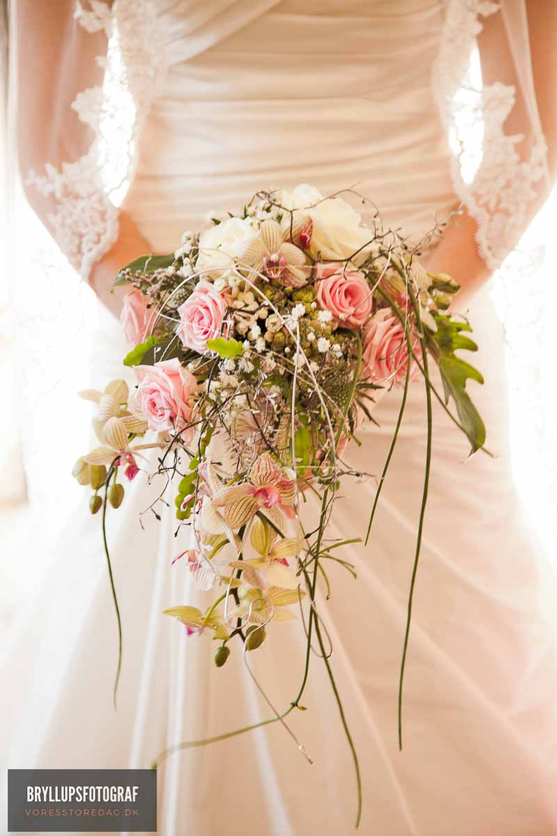 lang kjole til bryllup