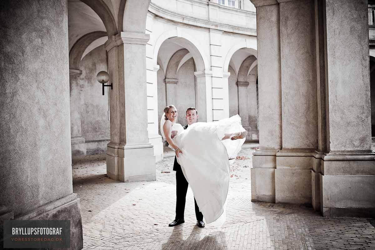 æresport bryllup tyl københavn