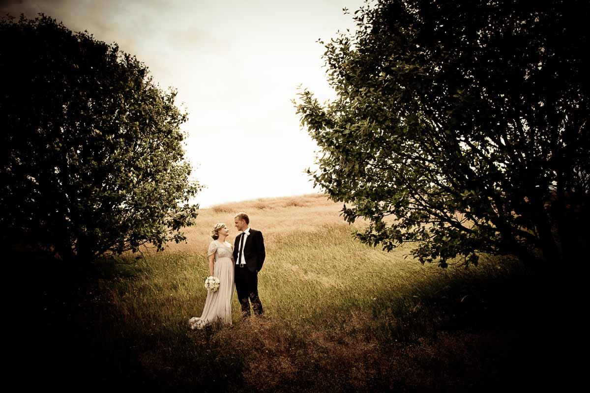 fotos af brudeparret