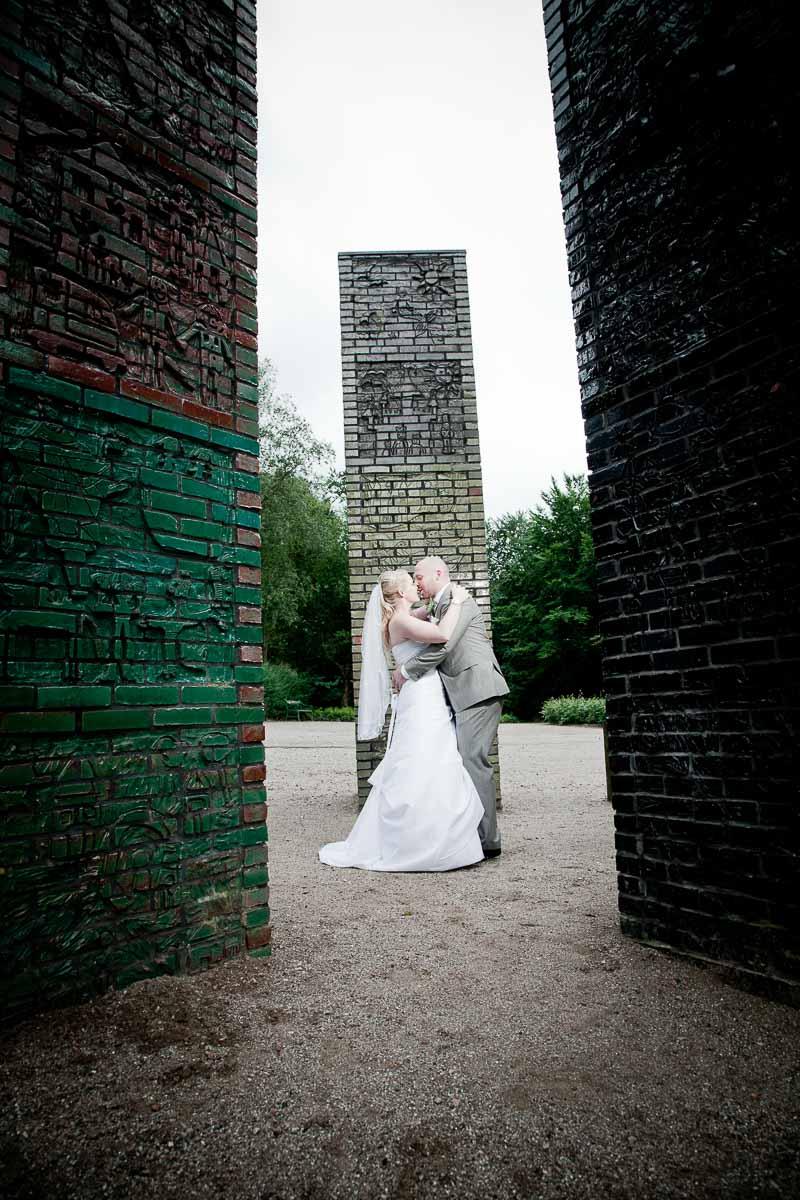 fotograf ved brylluppet