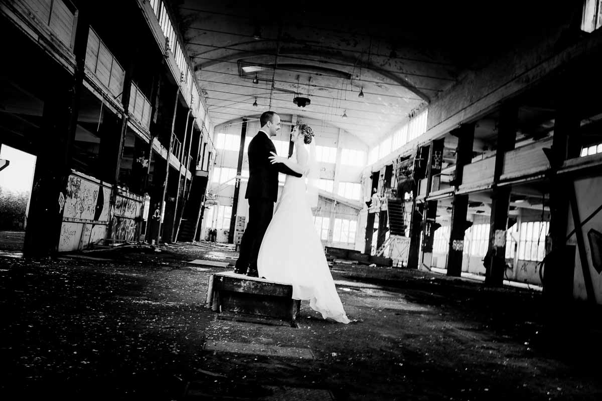 moderne bryllupsfoto