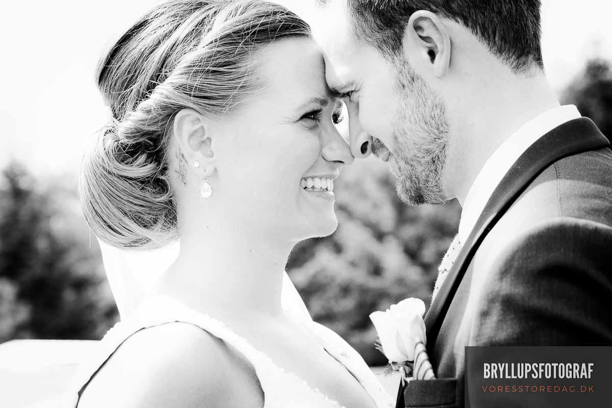 bryllupsfotografering ved aarhus