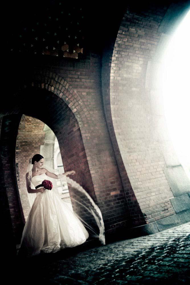 kreative bryllupsfoto